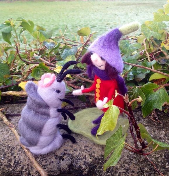 Here's 'Wibble Woodlouse' and 'Posie Pixie' off on their adventures in 'Whimsy Wood'