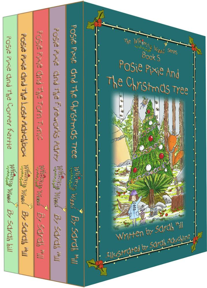 The 1st 5 books in my 'Whimsy Wood' series!