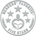 The Readers' Favourite 5-Star Seal for book 1, 'Posie Pixie And The Copper Kettle'!