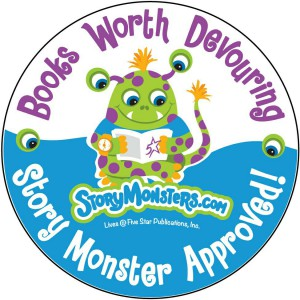 Story Monster Approved Seal awarded to book 6, 'Posie Pixie And The Snowstorm' in 2015.