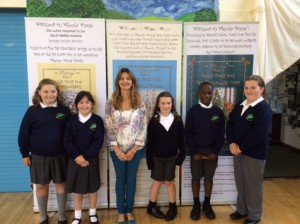 Sarah Meets Wyberton Primary's 'School Council' After Her Assembly To The School
