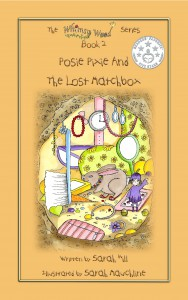 Front Cover Of 'Posie Pixie And The Lost Matchbox', Book 2 In The 'Whimsy Wood Series.