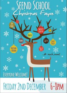 Whimsy Wood author Sarah Hill will be signing copies of her award-winning children's books at this Christmas Fayre!