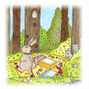 Here's Raspberry and Posie on their adventure in 'Posie Pixie And The Lost Matchbox'.