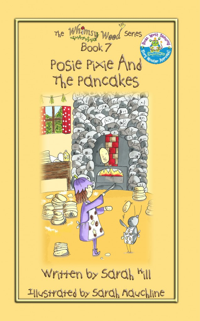 Fabulous Front Cover Of 'Posie Pixie And The Pancakes'.