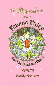 The fabulous front cover of 'Fearne Fairy And The Dandelion Clocks'!