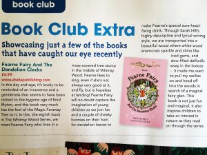 Review of 'Fearne Fairy And The Dandelion Clocks' by The Bath Parent.
