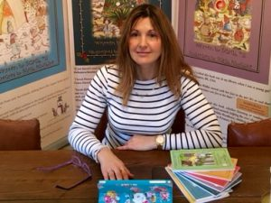 'Whimsy Wood' children's author Sarah Hill.