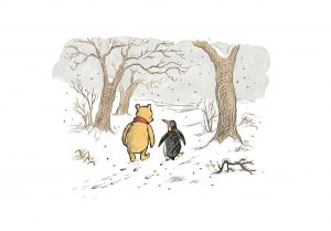 Meet 'Winnie-The-Pooh's' new friend 'Penguin'!