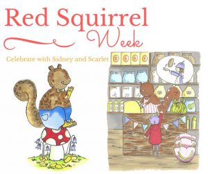 It's been Red Squirrel Week!