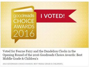 Please vote for 'Fearne Fairy And The Dandelion Clocks'! 😃📚✨